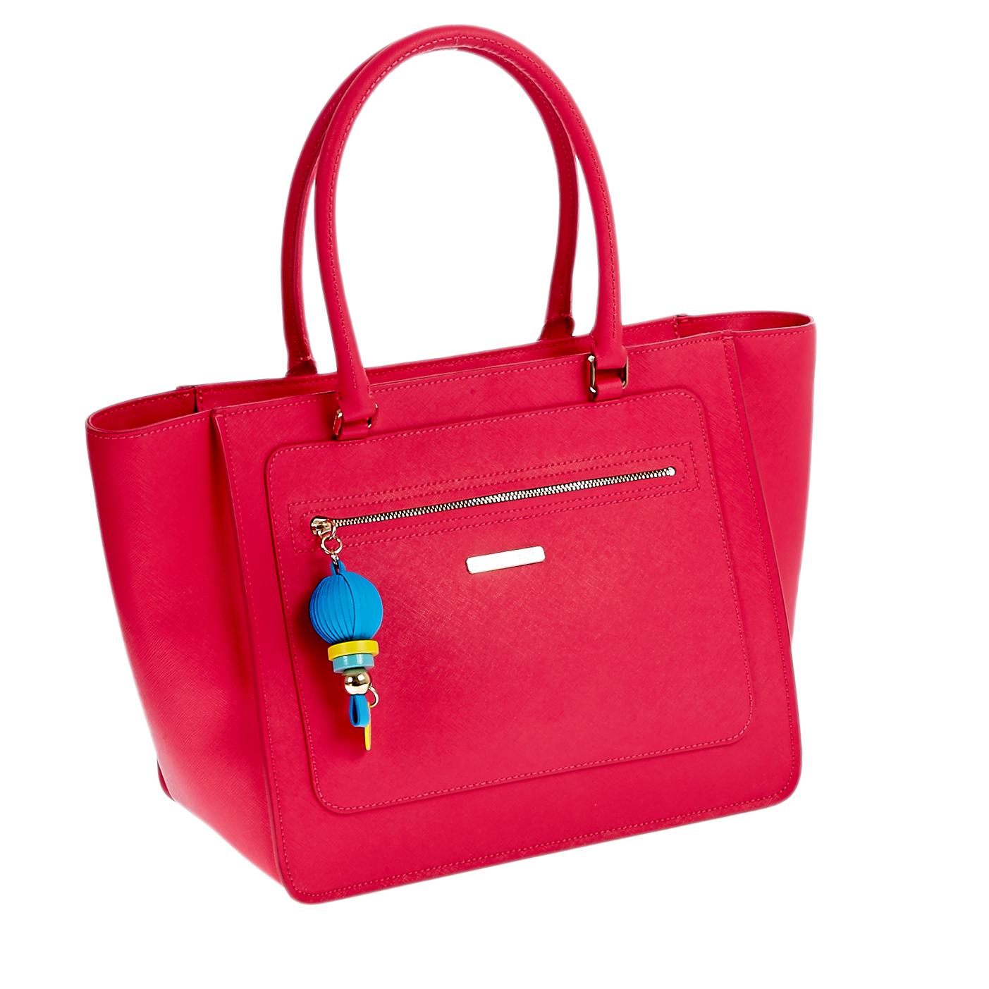 7932d9275c JUICY COUTURE - Γυναικεία τσάντα Juicy Couture κόκκινη-φούξια