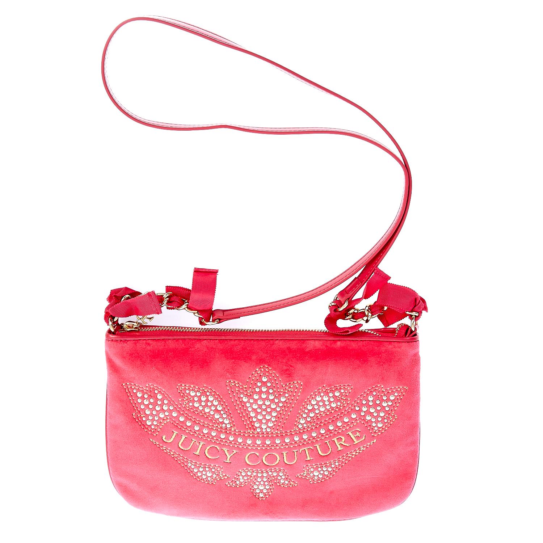 JUICY COUTURE – Γυναικεία τσάντα Juicy Couture φούξια 1441285.0-004H