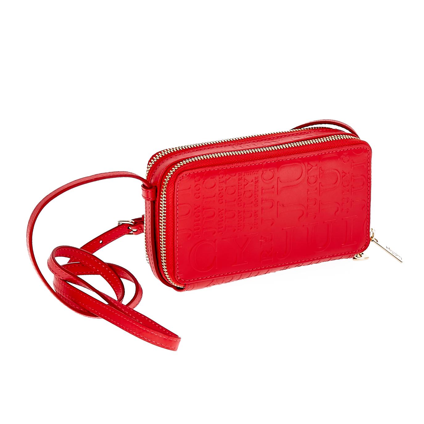 JUICY COUTURE – Γυναικεία τσάντα Juicy Couture κόκκινη 1441289.0-0045