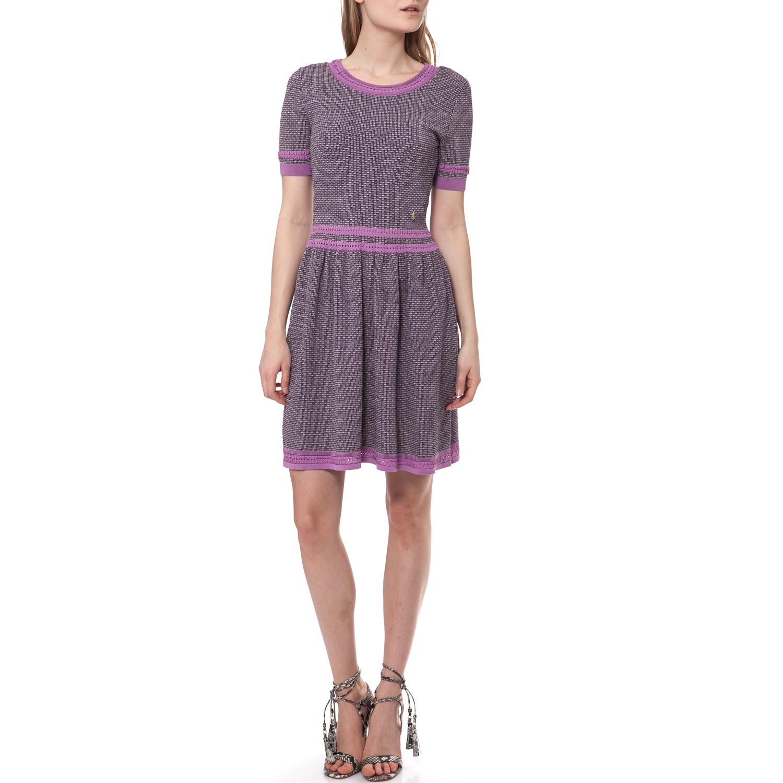 JUICY COUTURE - Γυναικείο φόρεμα Juicy Couture γκρι γυναικεία ρούχα φορέματα μίνι