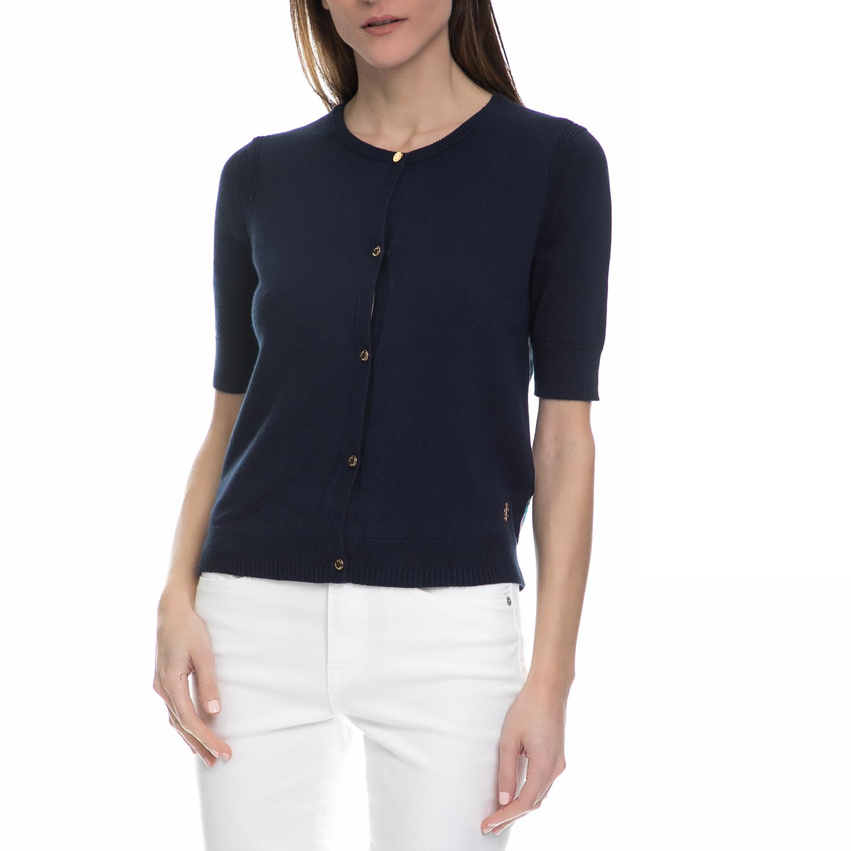 JUICY COUTURE – Γυναικεία ζακέτα Juicy Couture μπλε c45eaf40178