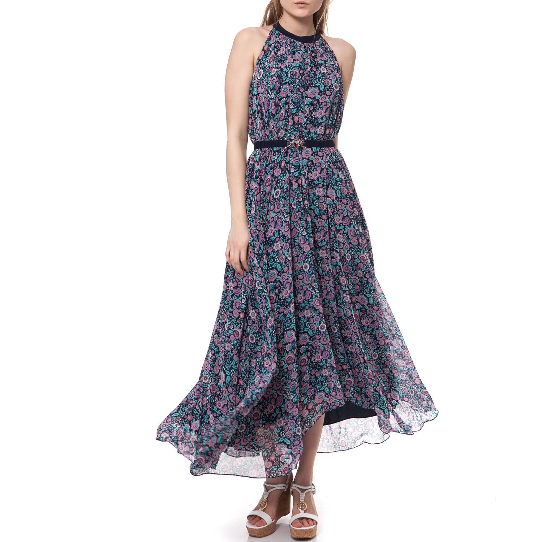 JUICY COUTURE - Γυναικείο φόρεμα Juicy Couture μπλε γυναικεία ρούχα φορέματα μάξι