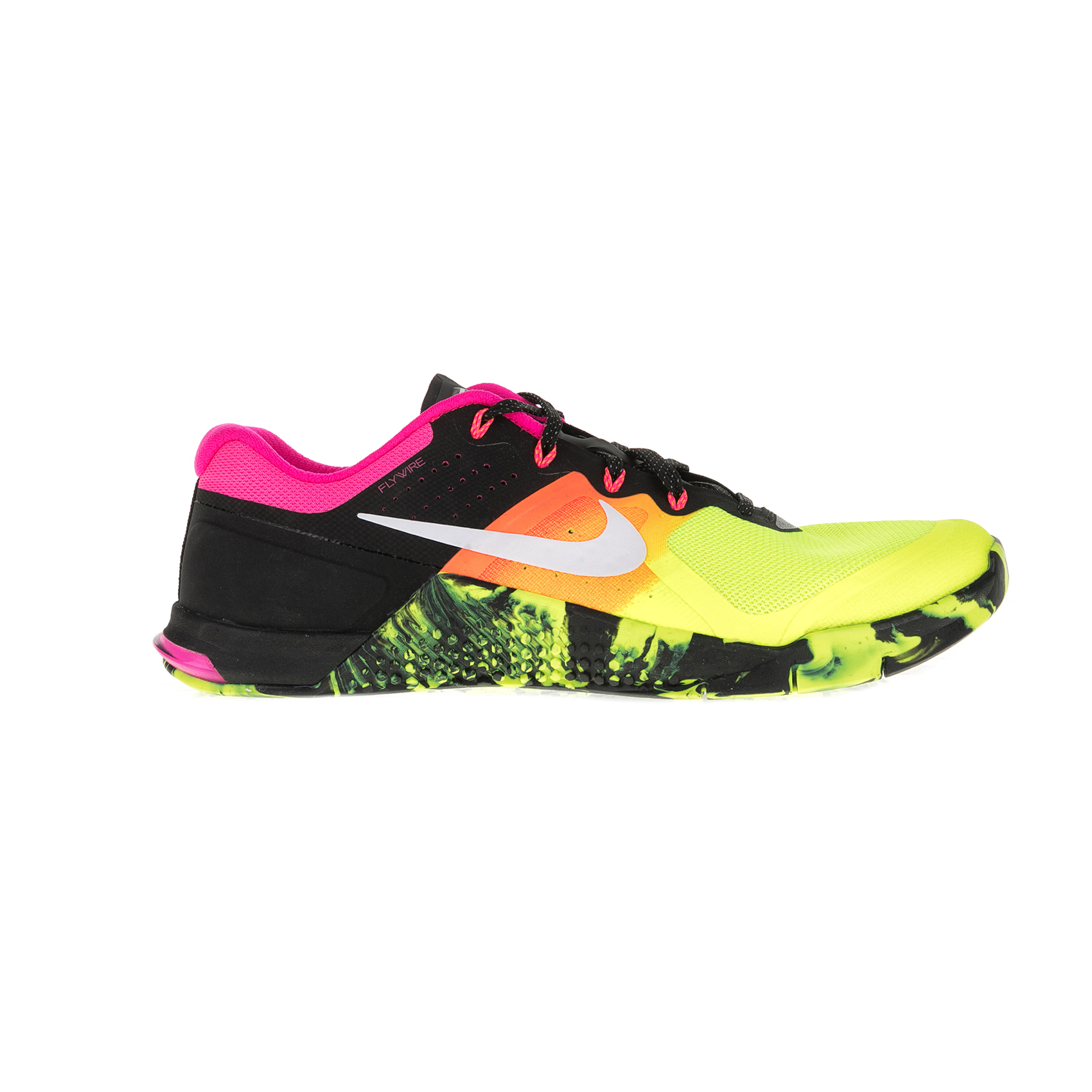 NIKE – Γυναικεία αθλητικά παπούτσια NIKE METCON 2 κίτρινα-μαύρα