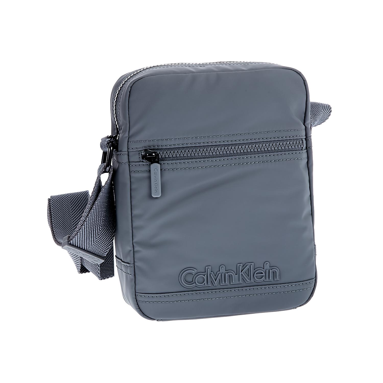 CALVIN KLEIN JEANS - Ανδρική τσάντα Calvin Klein Jeans γκρι ανδρικά αξεσουάρ τσάντες σακίδια ωμου