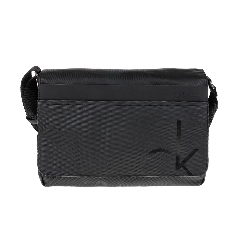 CALVIN KLEIN JEANS – Ανδρική τσάντα TOM MESSENGER μαύρη