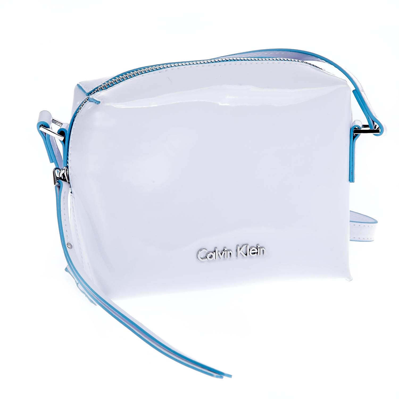 CALVIN KLEIN JEANS – Τσάντα Calvin Klein Jeans λευκή 1442870.0-0091
