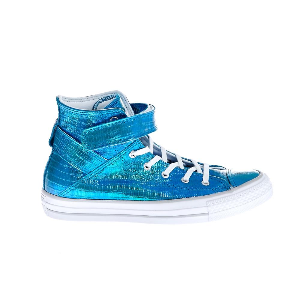 CONVERSE - Γυναικεία παπούτσια CT ASBREA REPTILE IRIDESCENT μπλε γυναικεία παπούτσια sneakers
