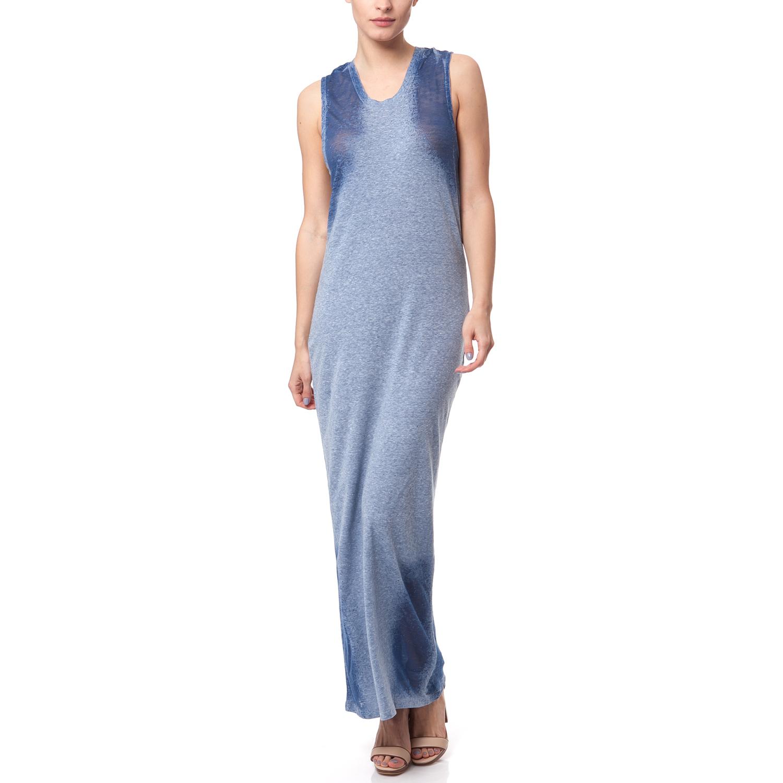 CALVIN KLEIN JEANS - Γυναικείο φόρεμα Calvin Klein Jeans μπλε γυναικεία ρούχα φορέματα μάξι