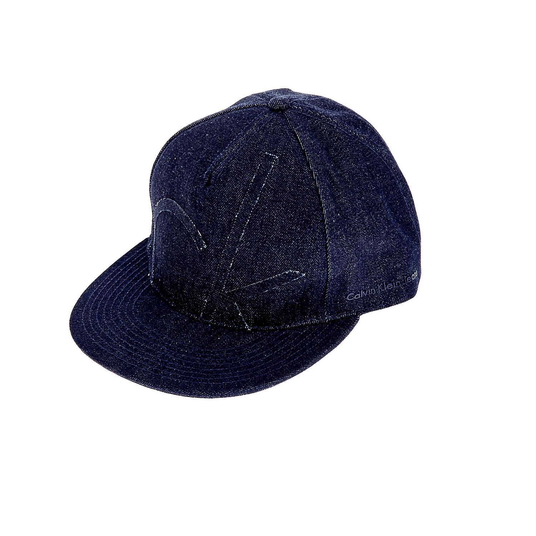 CALVIN KLEIN JEANS - Καπέλο τζόκεϋ Calvin Klein Jeans μπλε ανδρικά αξεσουάρ καπέλα casual