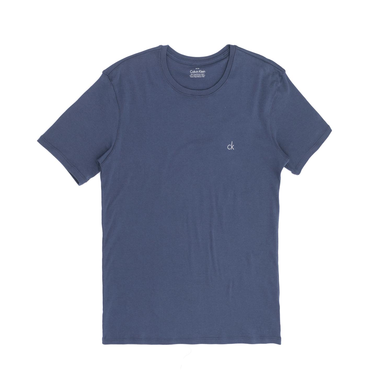 CK UNDERWEAR - Φανελάκι CK UNDERWEAR μπλε ανδρικά ρούχα εσώρουχα φανέλες