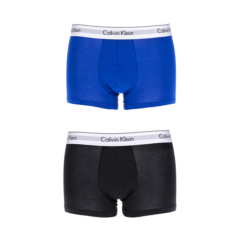 CK UNDERWEAR – Σετ μπόξερ Calvin Klein μαύρο-μπλε