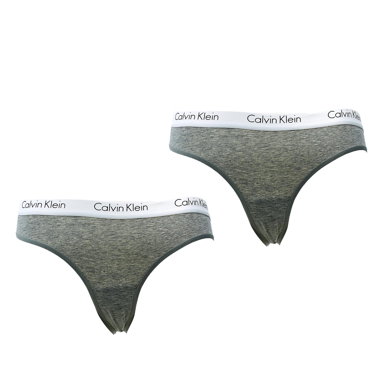 CK UNDERWEAR – Σετ σλιπ Calvin Klein γκρι