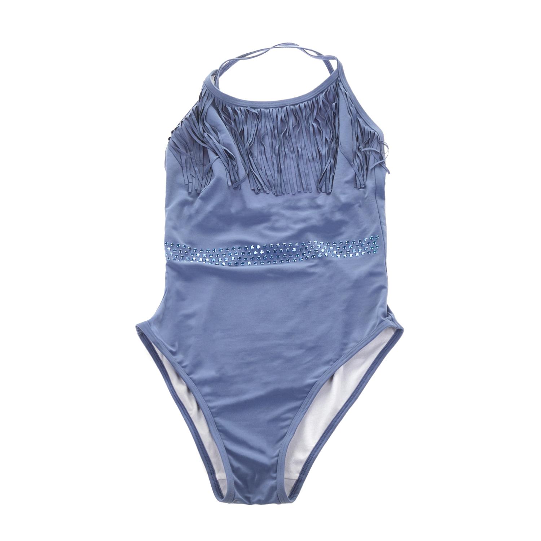 MONNALISA – Ολόσωμο μαγιό MONNALISA FRANGE μπλε