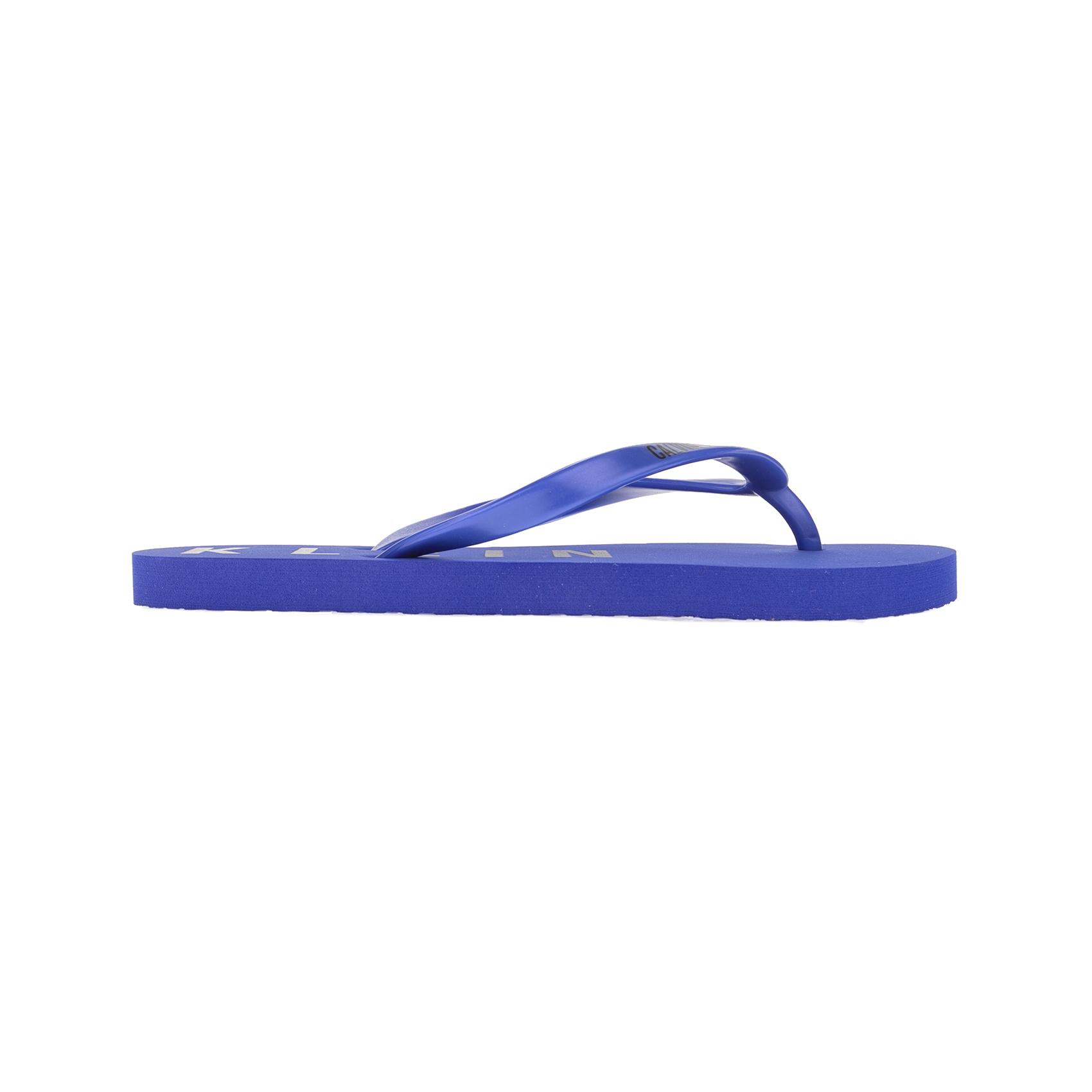 CK UNDERWEAR – Γυναικείες σαγιονάρες CALVIN KLEIN μπλε