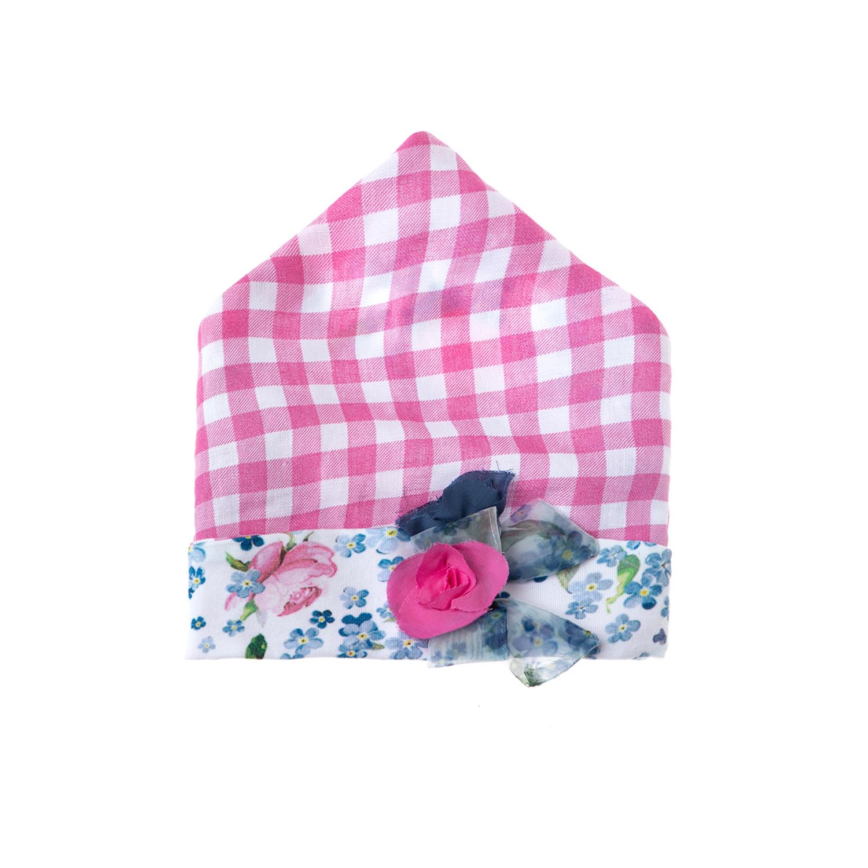 MONNALISA - Παιδική μπαντάνα-μαντήλι MONNALISA ροζ παιδικά girls αξεσουάρ καπέλα