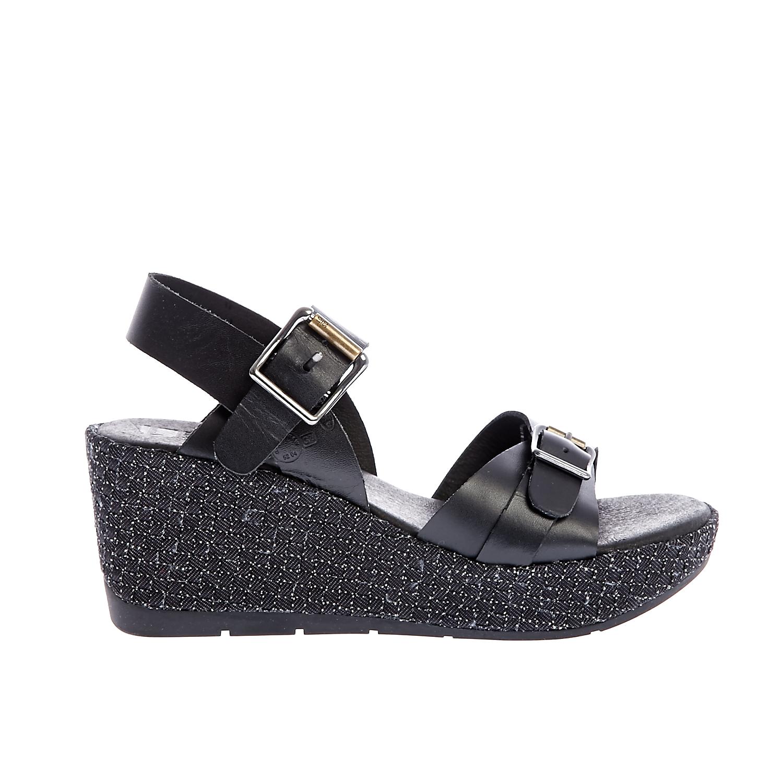 G-STAR RAW - Γυναικείες πλατφόρμες G-Star Raw μαύρες-γκρι γυναικεία παπούτσια πλατφόρμες