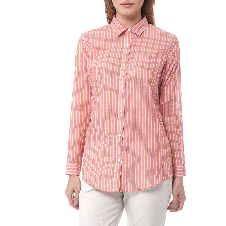 SCOTCH & SODA – Γυναικείο πουκάμισο Maison Scotch ροζ-κοραλί