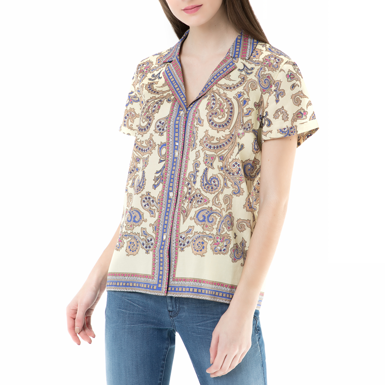 SCOTCH & SODA – Γυναικείο πουκάμισο SCOTCH & SODA με μοτίβο