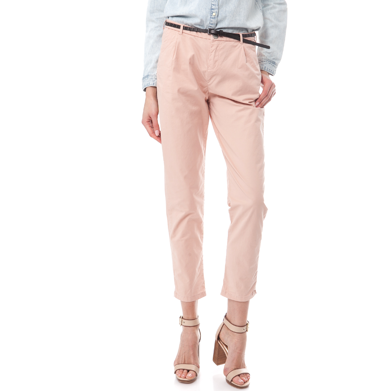 SCOTCH & SODA - Γυναικείο παντελόνι Maison Scotch ροζ γυναικεία ρούχα παντελόνια