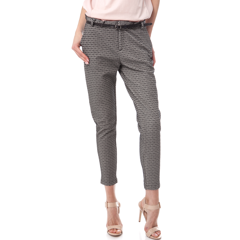 SCOTCH & SODA - Γυναικείο παντελόνι Maison Scotch μαύρο-γκρι γυναικεία ρούχα παντελόνια