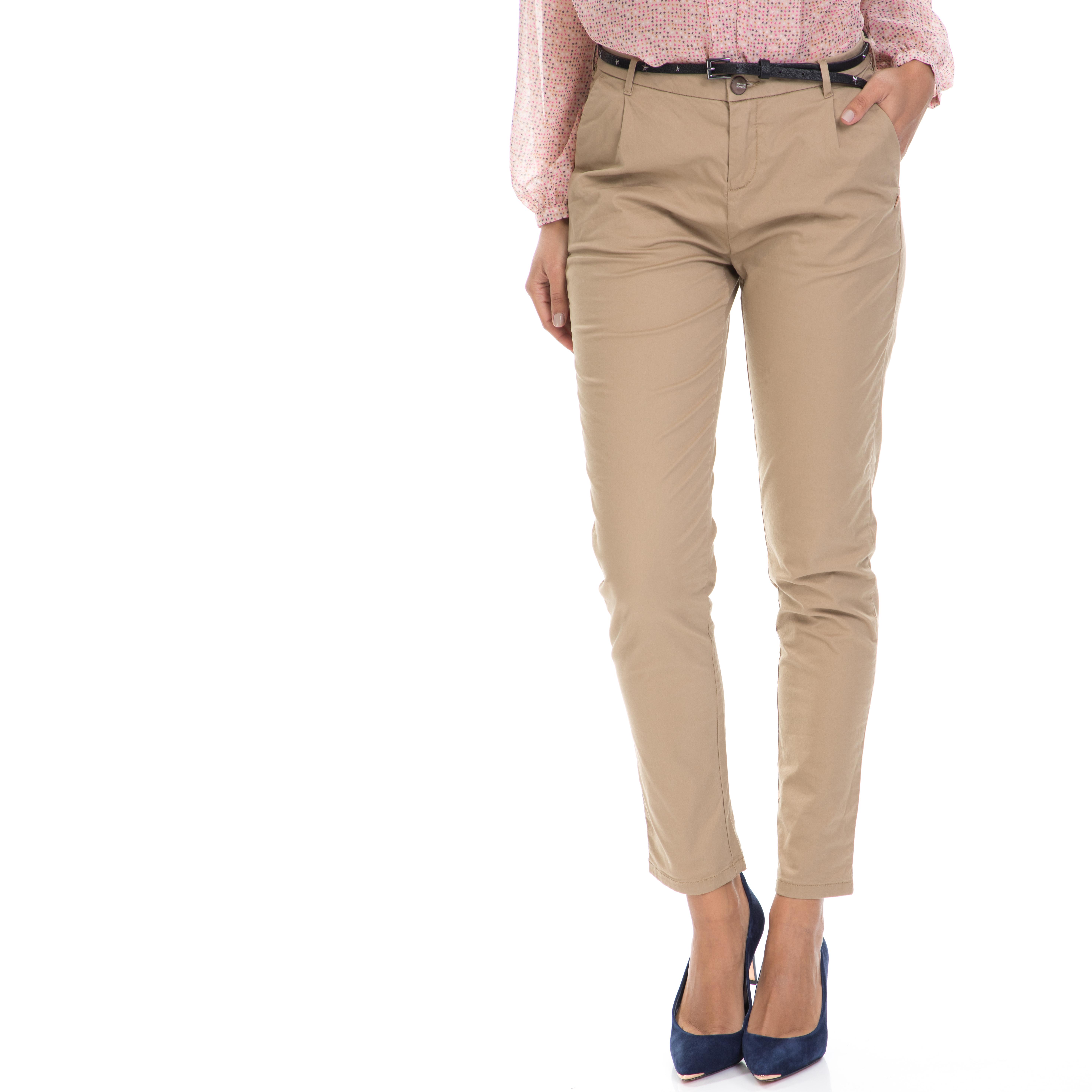 MAISON SCOTCH – Γυναικείο παντελόνι MAISON SCOTCH μπεζ
