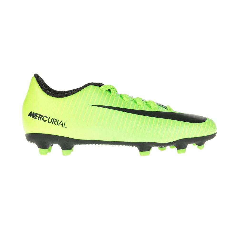 NIKE – Παιδικά παπούτσια για ποδόσφαιρο JR MERCURIAL VORTEX III FG κίτρινα