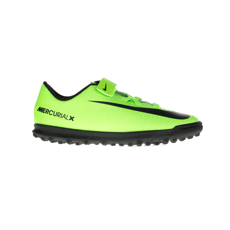 NIKE – Παιδικά παπούτσια NIKE MERCURIALX VORTEX 3 (V) TF κίτρινα