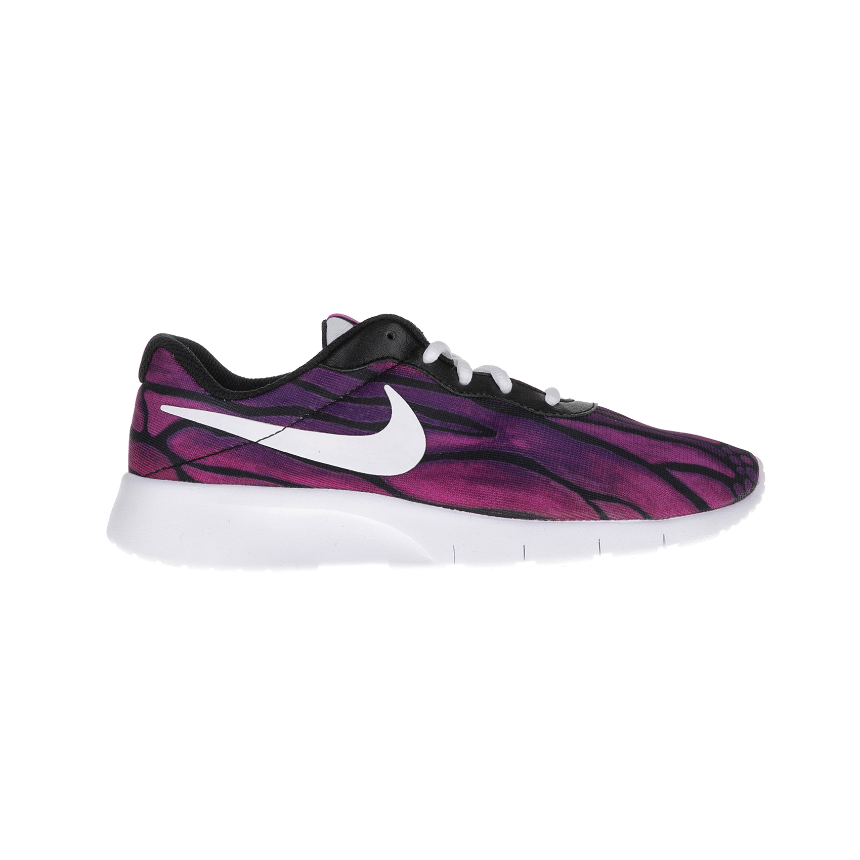 NIKE – Παιδικά αθλητικά παπούτσια Nike TANJUN PRINT (GS) μαύρα – μοβ