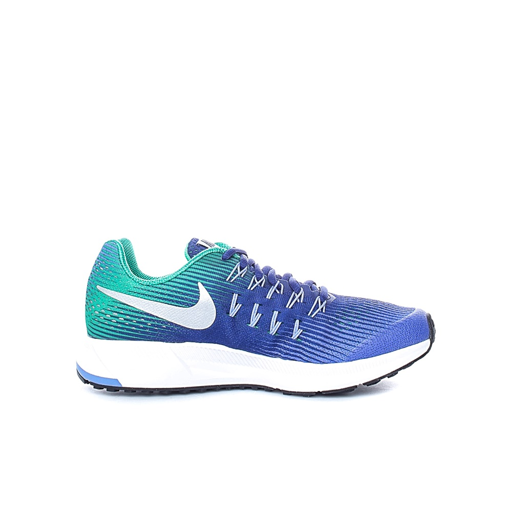 NIKE – Παιδικά αθλητικά παπούτσια NIKE ZOOM PEGASUS 33 (GS) πράσινα – μοβ