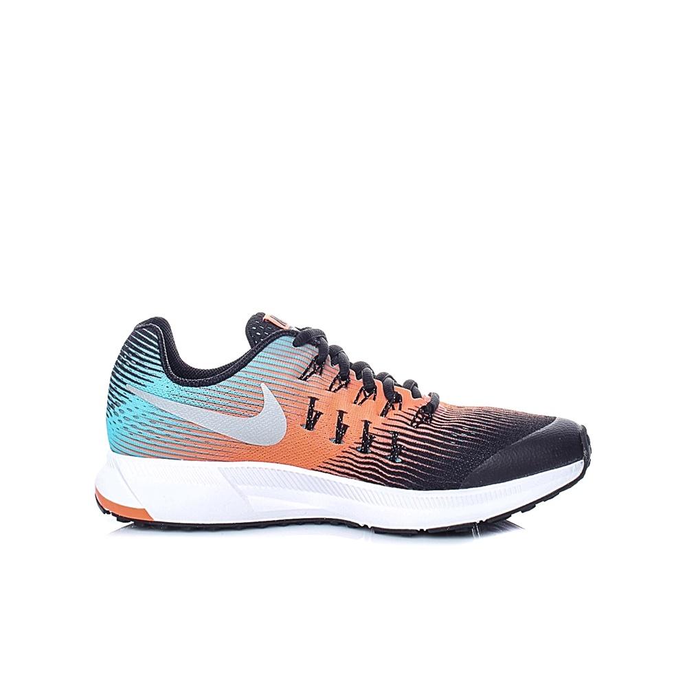 NIKE – Παιδικά αθλητικά παπούτσια NIKE ZOOM PEGASUS 33 (GS) μαύρα-πορτοκαλί