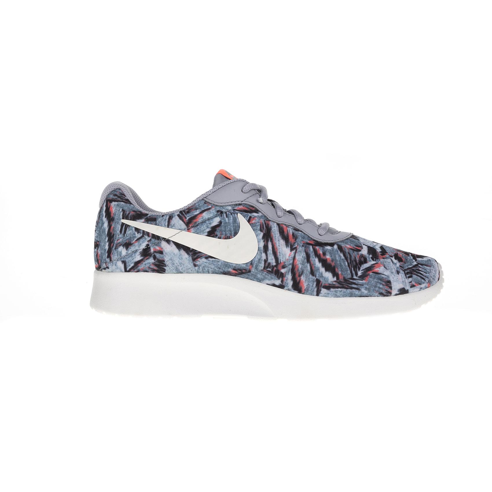 NIKE – Γυναικεία αθλητικά παπούτσια Nike TANJUN PRINT γκρι-μπλε
