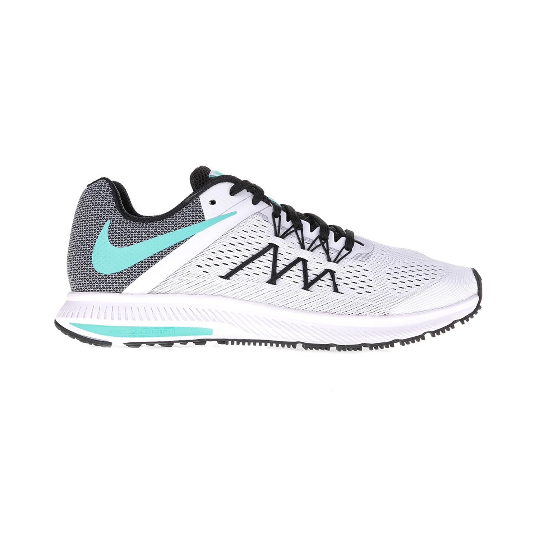 NIKE – Γυναικεία παπούτσια NIKE ZOOM WINFLO 3 λευκά-γκρι