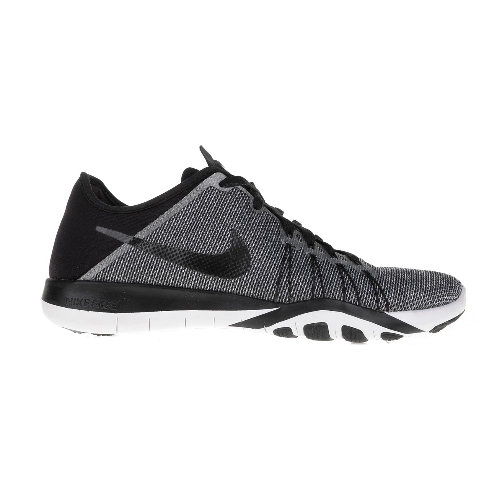 1d5a763124f NIKE - Γυναικεία αθλητικά παπούτσια Nike FREE TR 6 PRT μαύρα - γκρι ...