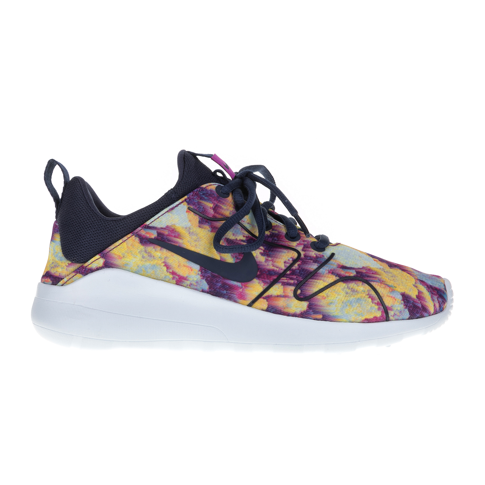 NIKE – Γυναικεία αθλητικά παπούτσια Nike KAISHI 2.0 PRINT μαύρα – κίτρινα