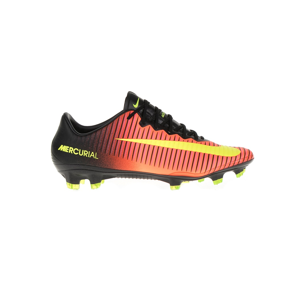 NIKE – Ανδρικά ποδοσφαιρικά παπούτσια ΝΙΚΕ MERCURIAL VAPOR XI FG πορτοκαλί-μαύρα