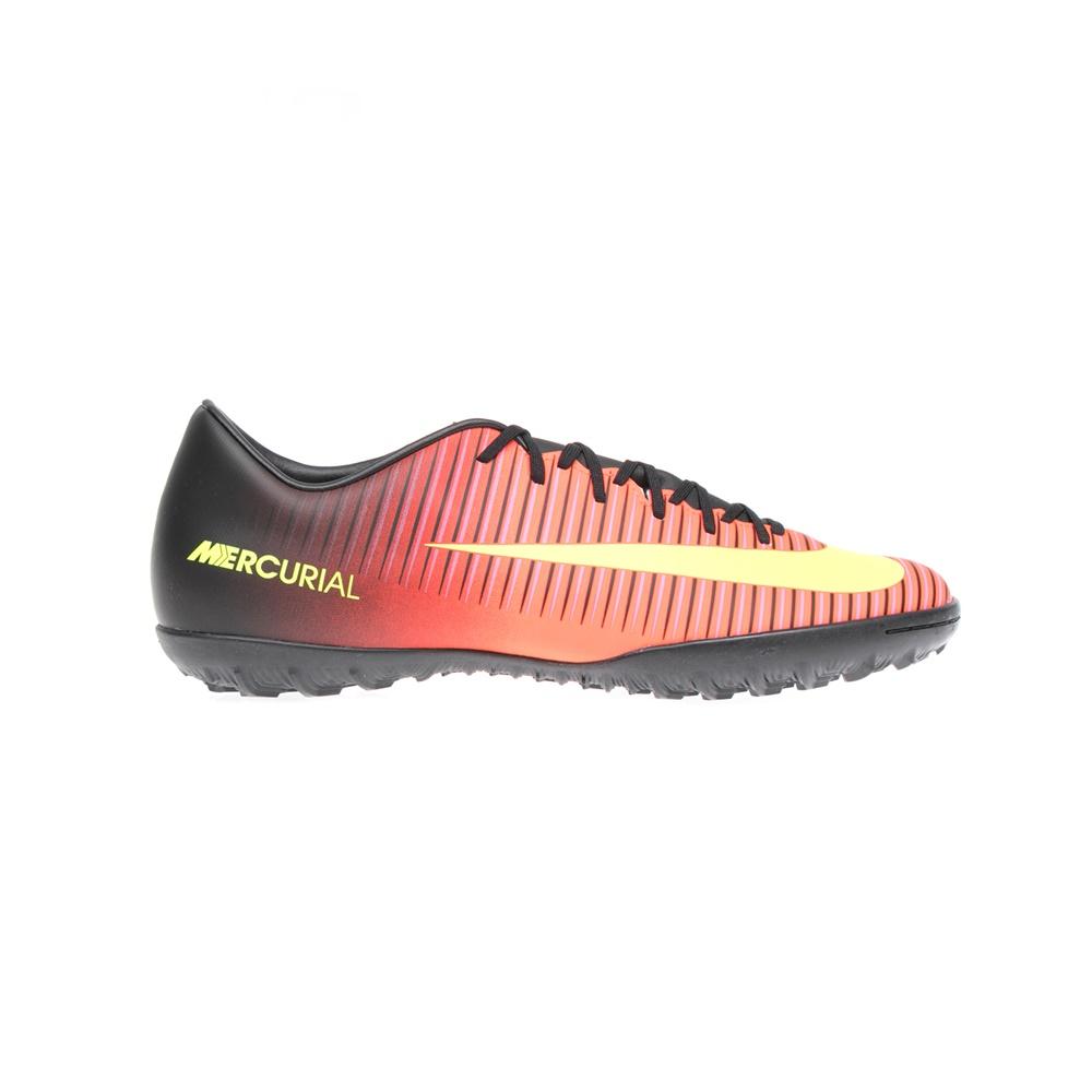 NIKE - Αντρικά παπούτσια NIKE MERCURIALX VICTORY VI TF μαύρα-πορτοκαλί ανδρικά παπούτσια αθλητικά football