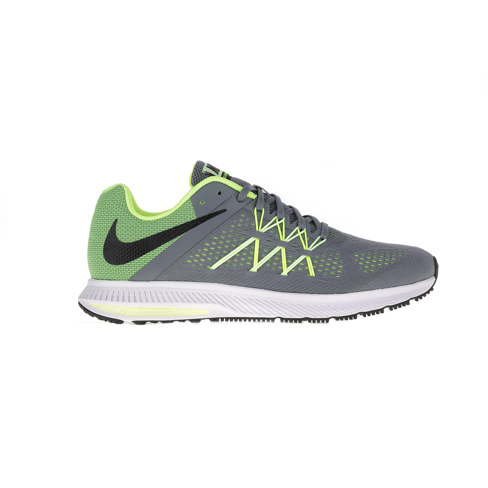 NIKE – Ανδρικά αθλητικά παπούτσια Nike ZOOM WINFLO 3 γκρι – πράσινα