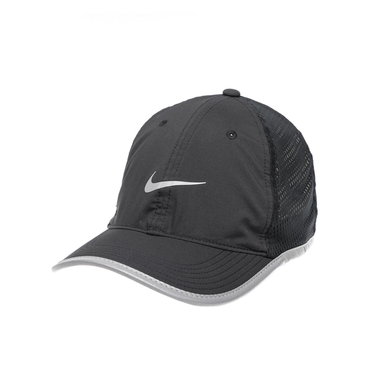 NIKE – Καπέλο NIKE M'S RUN KNIT MESH CAP μαύρο