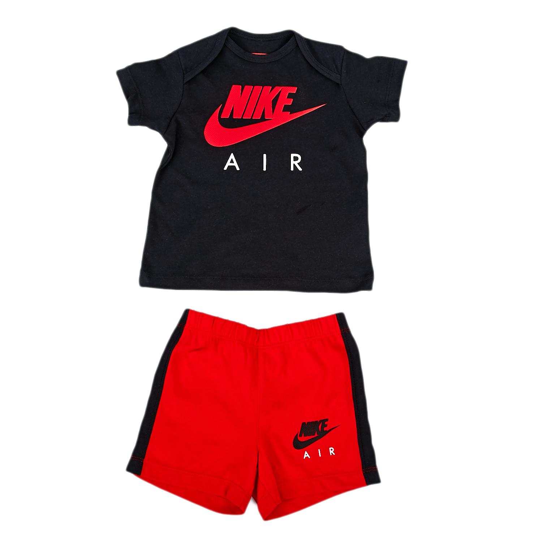 NIKE – Βρεφικό σετ Nike μαύρο-κόκκινο