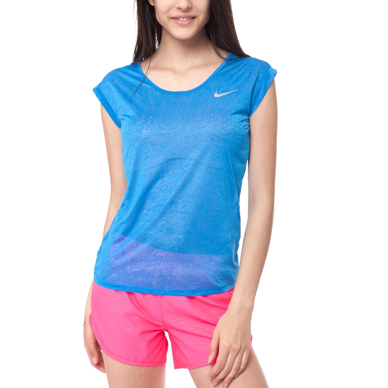 72902e57666e NIKE - Γυναικεία μπλούζα ΝΙΚΕ μπλε