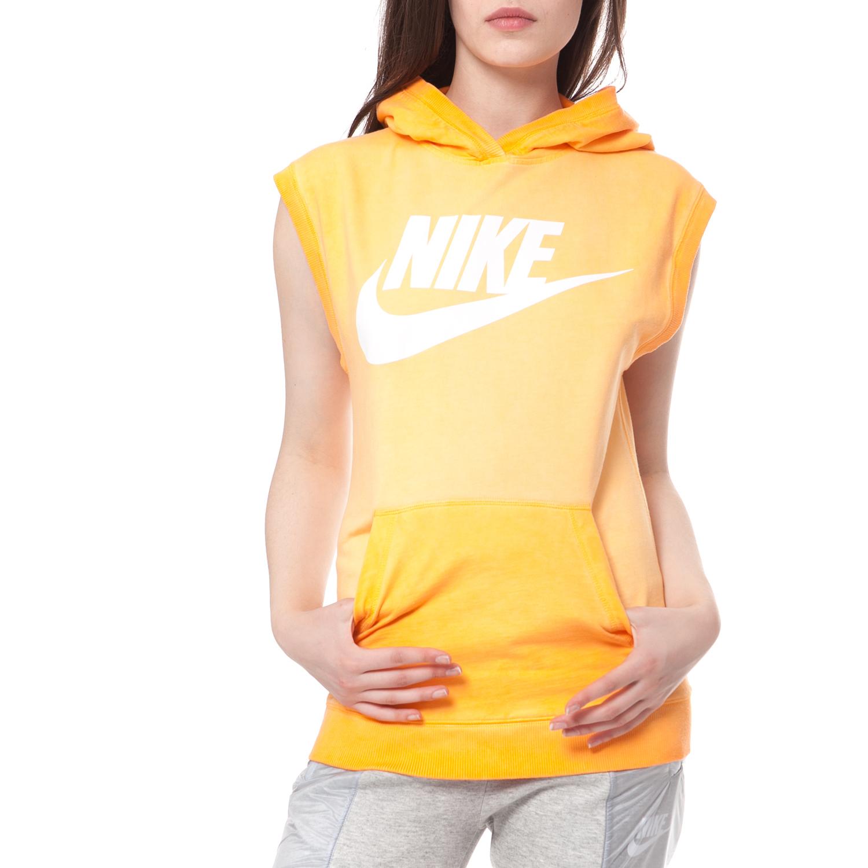 442e24231a NIKE - Γυναικείο αμάνικο φούτερ NIKE SLEEVELESS HOODY-WASH κίτρινο ...