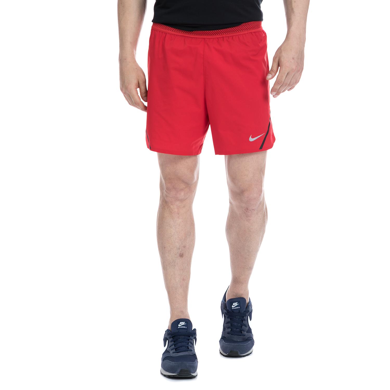 NIKE - Αντρικό αθλητικό σορτς NIKE κόκκινο ανδρικά ρούχα σορτς βερμούδες αθλητικά