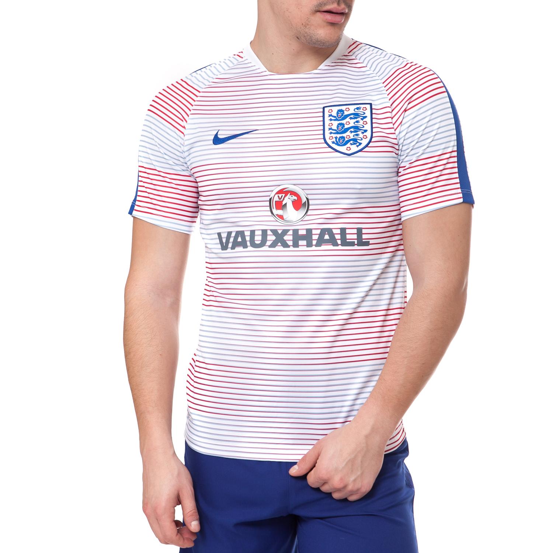 NIKE - Αντρική μπλούζα NIKE ριγέ ανδρικά ρούχα αθλητικά t shirt