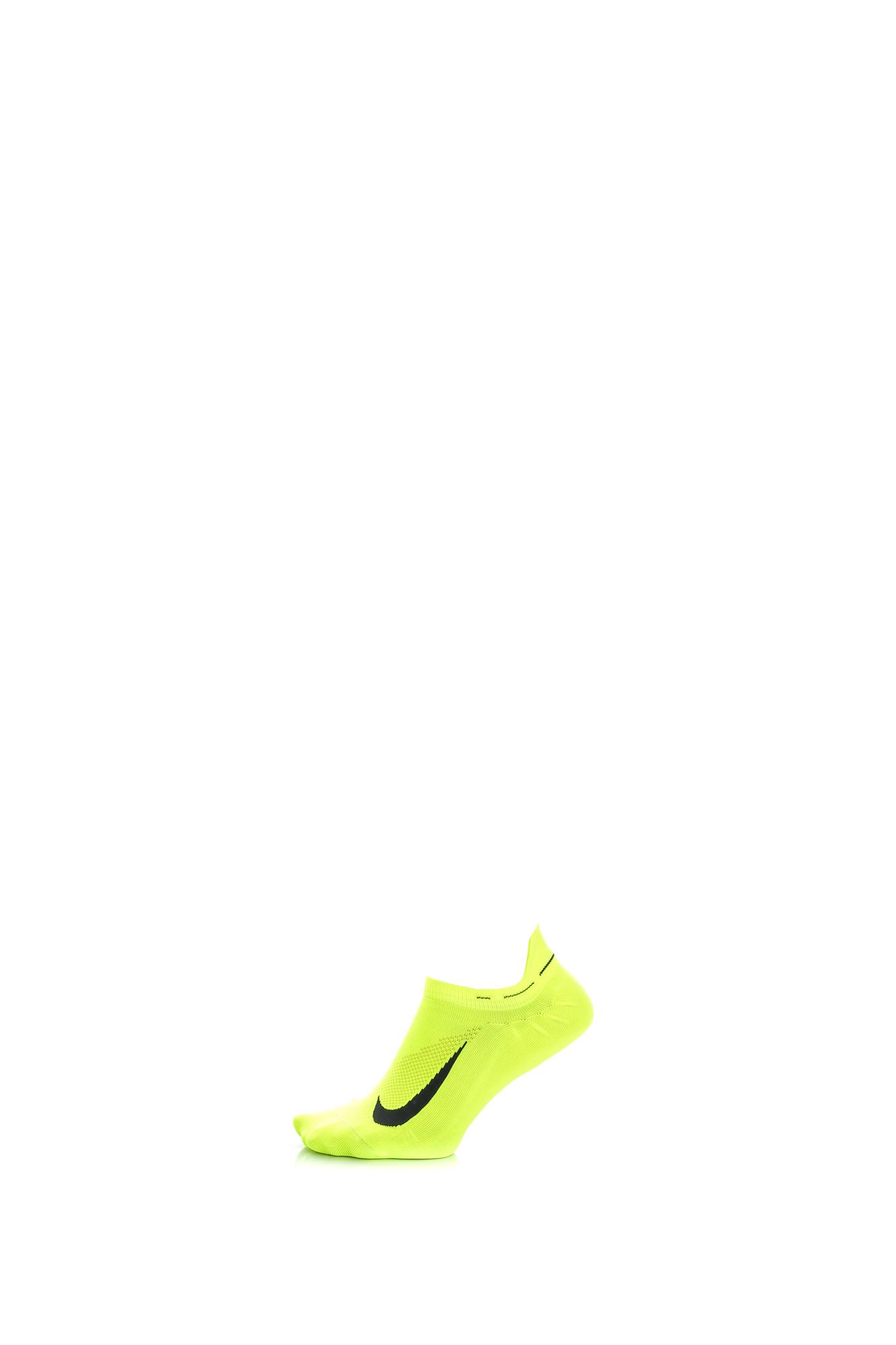 NIKE – Unisex κάλτσες για τρέξιμο Nike Elite Lightweight No-Show κίτρινες df02ab9c587