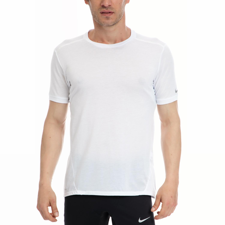 NIKE - Αντρική μπλούζα NIKE άσπρη ανδρικά ρούχα αθλητικά t shirt