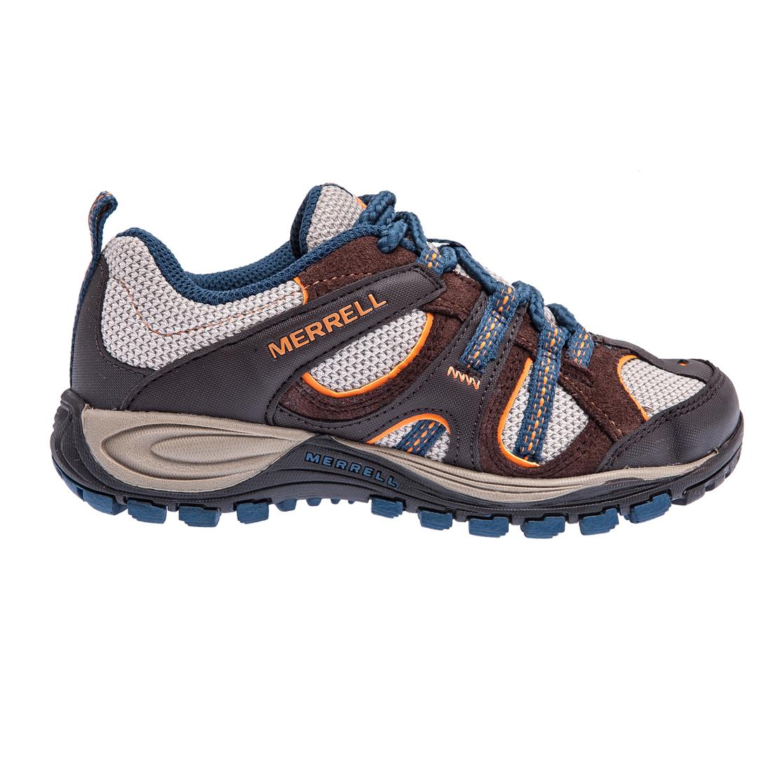 MERRELL – Παιδικά παπούτσια Yokota Trail Ventilator MERREL καφέ