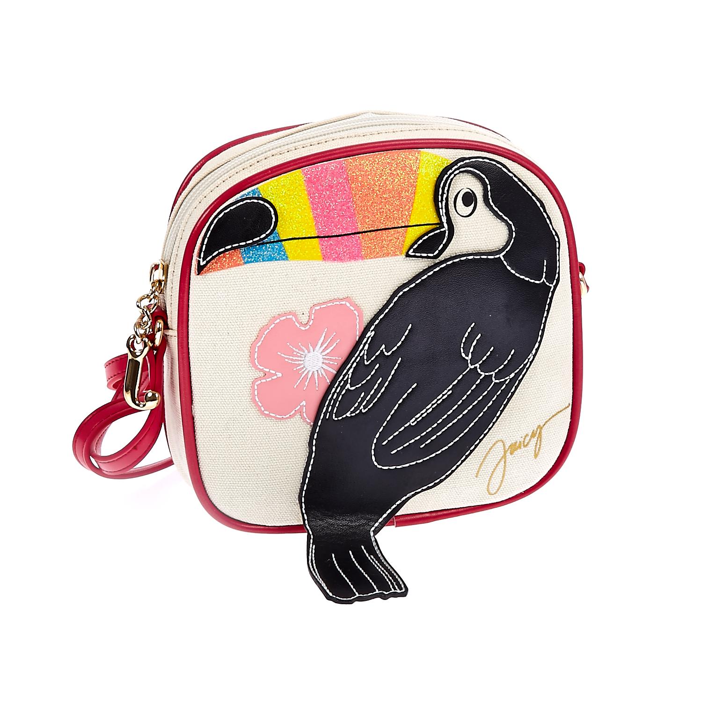 JUICY COUTURE KIDS - Παιδική τσάντα Juicy Couture λευκή παιδικά girls αξεσουάρ τσάντες σακίδια