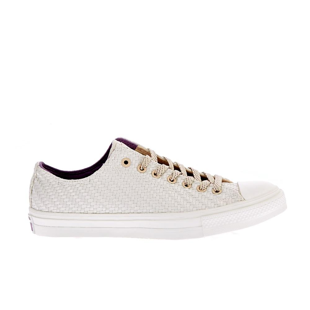 CONVERSE - Unisex παπούτσια QS CT II OX μπεζ ανδρικά παπούτσια sneakers