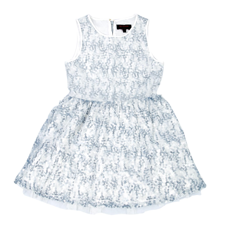 JUICY COUTURE KIDS - Παιδικό φόρεμα Juicy Couture μπλε-λευκό παιδικά girls ρούχα φορέματα
