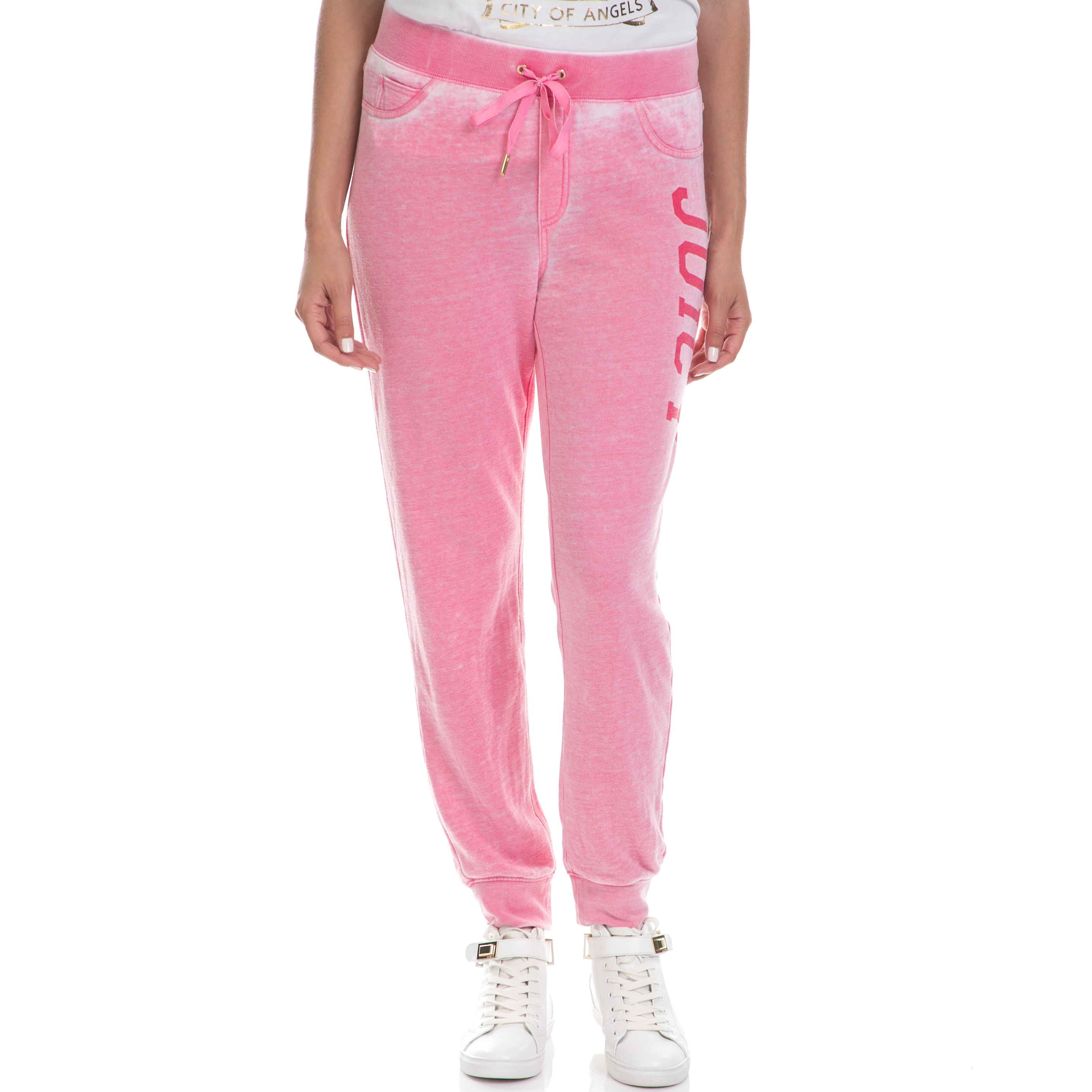 JUICY COUTURE – Γυναικεία φόρμα JUICY COUTURE ροζ